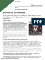 Indicadores y Evidencias Sobre La Pobreza Por a Rofman