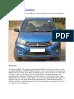 Maruti Suzuki Celerio Ownership Review