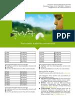 Factsheets Postserver - Preise Dualer Massenversand