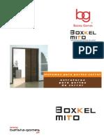 Catalogo Sistemas Portas de Correr Boxkel MITO