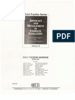 Advocacy and Management Volume 20001