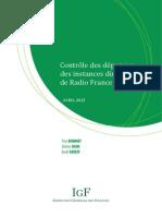 Radio France. Bureau, voiture, conseiller
