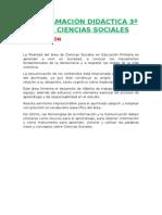 Programación Lomce 3º Ciencias Sociales