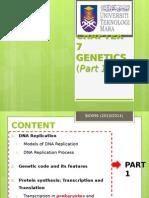 Chap 7 Genetics PART 1