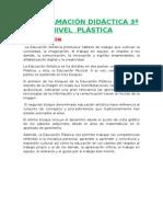 Programación Lomce 3º Plástica