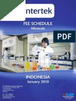 Fees Indo-Minerals 2010 - Intertek Books