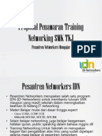 Proposal Training Sekolah Idn