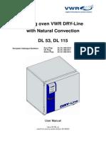 Manual Oven Dry Line En
