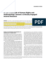Speed - At the Crossroads of Human Rights and Anthropology