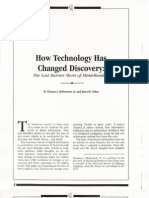 How Technology Has Changed Discovery 0001