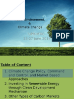 Environment Trade Law Presentation