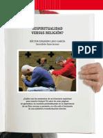 ¿Espiritualidad Versus Religión