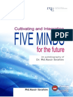 CV Integrating Five Minds for the Future