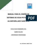 Manual de Diseno de Agua y Alacantarillado
