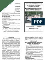 Convocatoria Xii Congreso Valle de Mexico