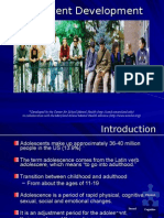 adolescent development for general audience