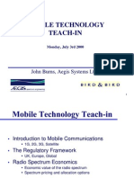 Mobile Technology Teach-In