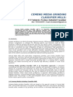 Cemeng Mediagrinding Classifier Mills
