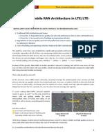 Evolution of Mobile RAN Architecture in LTE-A Era (en)