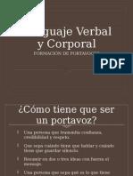Lenguaje Verbal y Corporal