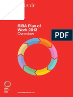 Rib a Plan of Work 2013ukyjthgfdsa Overview