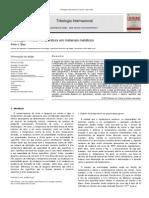 Elevated-temperature Tribology of Metallic Materials