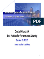 AIX Tuning for Oracle DB