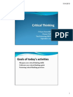 Critical Thinking [Compatibility Mode]