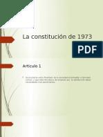 La Constitución de 1973