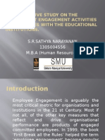 A Comparative Study on the Employment Engagement Activities