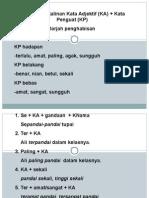darjah penghabisan KA+KP