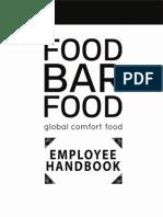 fbf employee handbook