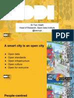 A smart city is an open city - Tom Heath