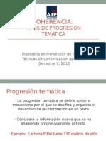Tipos de Progresión Temática