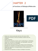 The Structure and Functions of Biological Molecules