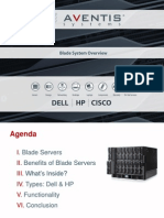 Blade System OverView - HP-Dell-Cisco