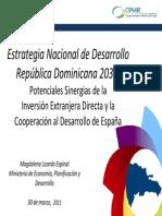 Lizardo-Magdalena Estrategia Nacional Desarrollo Republica Dominicana 2030