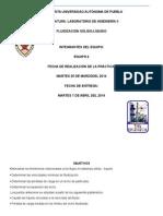FLUIDIZACIÓN SÓLIDO-LÍQUIDO