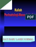 Kuliah Perinatologi OK 2008