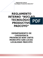1.- Reglamento Interno Ntp Padcoyo