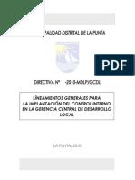 Directiva de Control Interno - Gcdl.doc