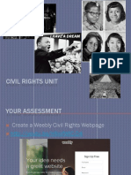 civil rights project instructions