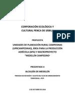 Propuesta UPRCampesina, APA y MED Campesino