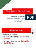 PSim 4. Simulation Techniques