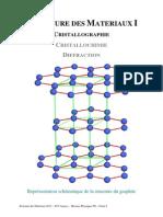 Structure Des Materiaux I Cristallographie
