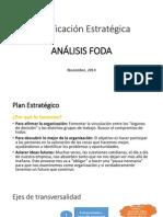 ANALISIS FODA Planificacion Estrategica