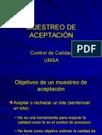 UD3 - Muestreo de Aceptacion - Resumen
