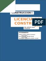 Licencia de Edificación  Perú