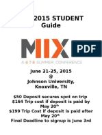 Mix 2015 Student Guide