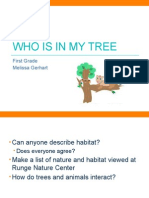 who is in my tree class version